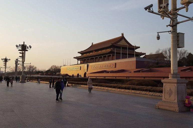 La Puerta de Tian'anmén