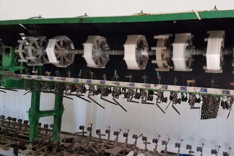 Fábrica de la Seda y su proceso de elaboración