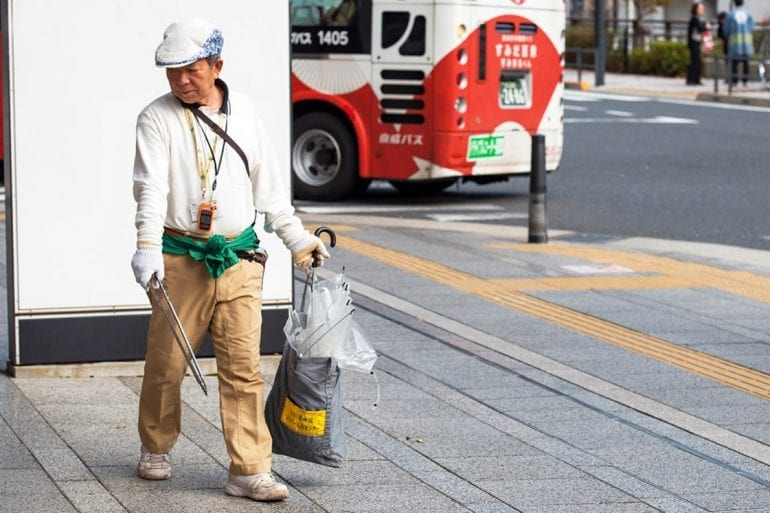 La basura, más que un acto de civismo y cultura japonesa