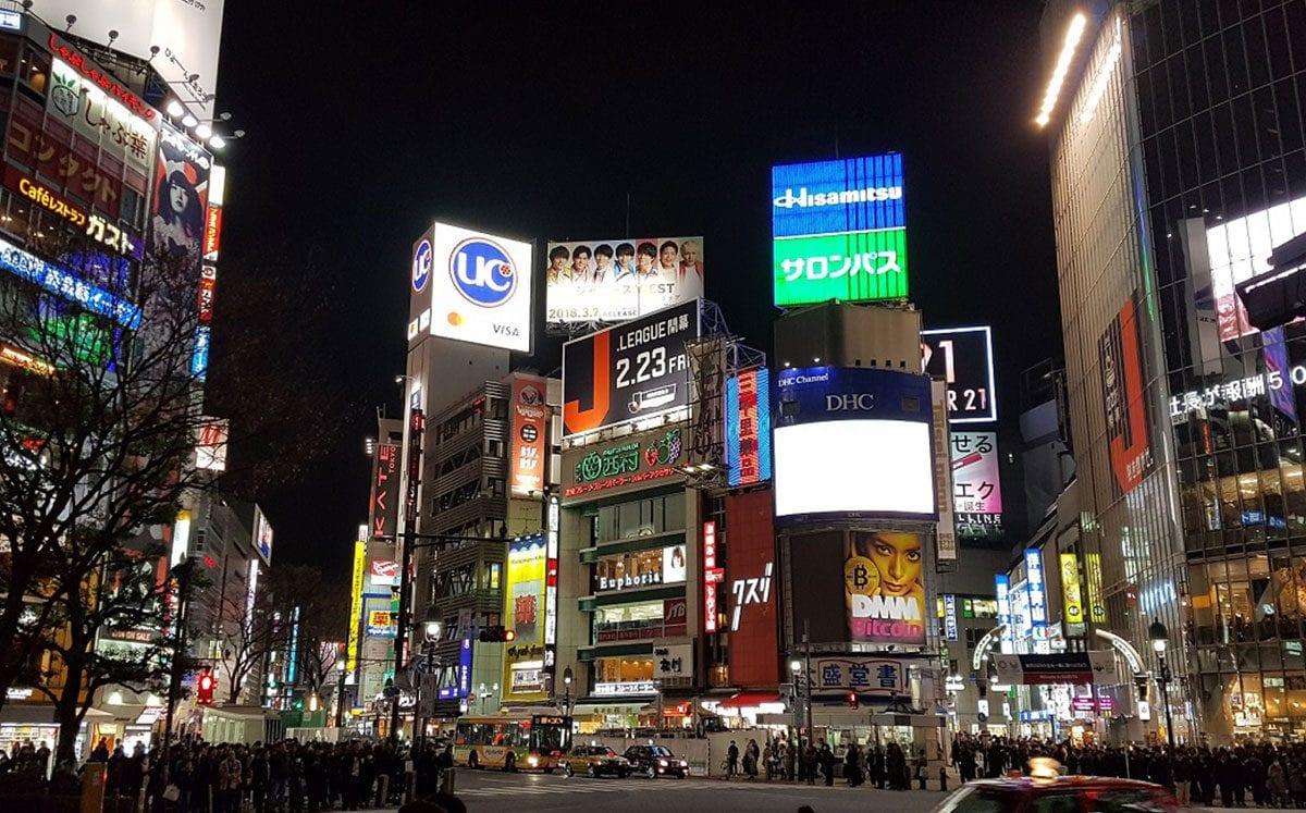 Cruce de Shibuya… El cruce peatonal más transitado del mundo…