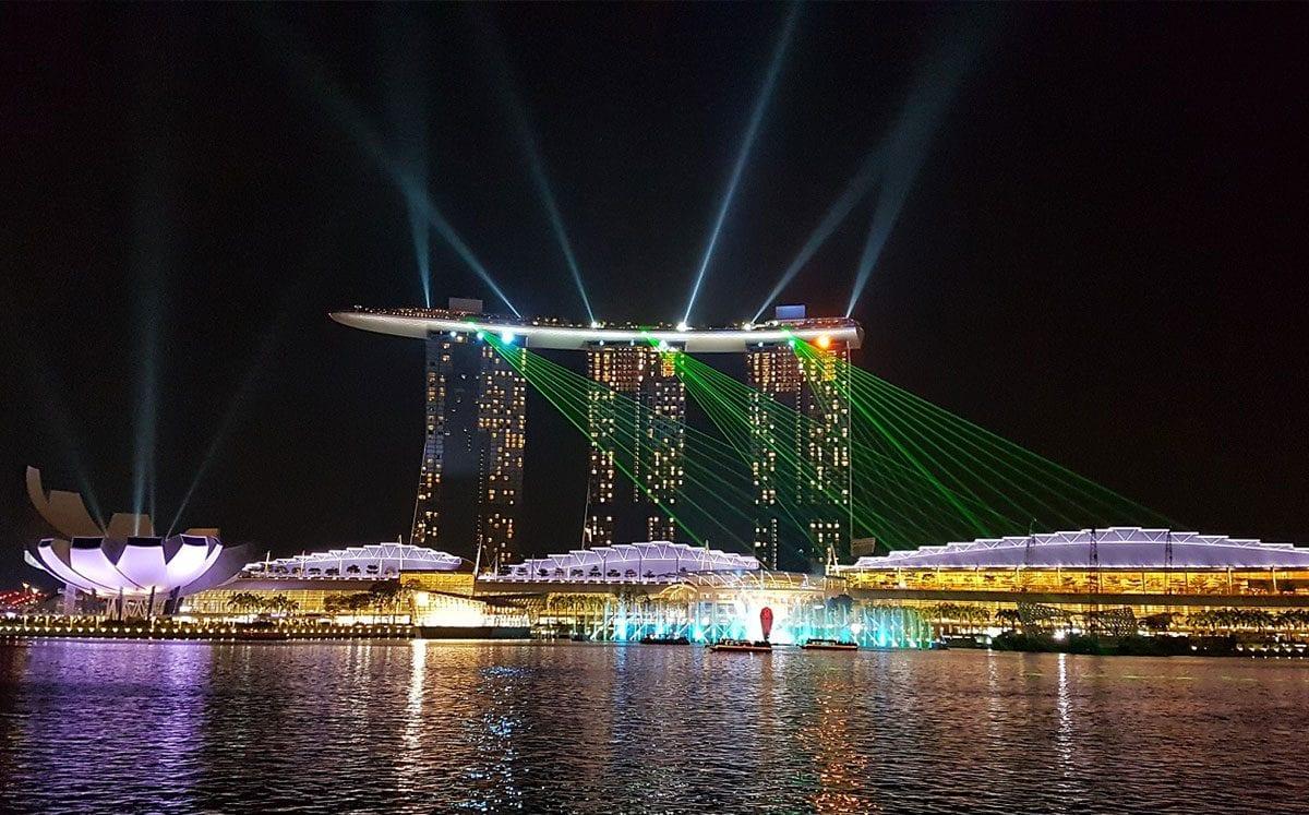 El Skyline de Singapur