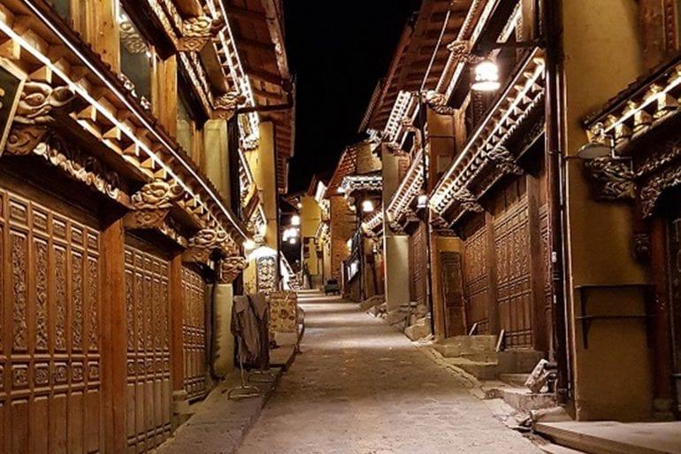 Shangri-La… místicismo de noche