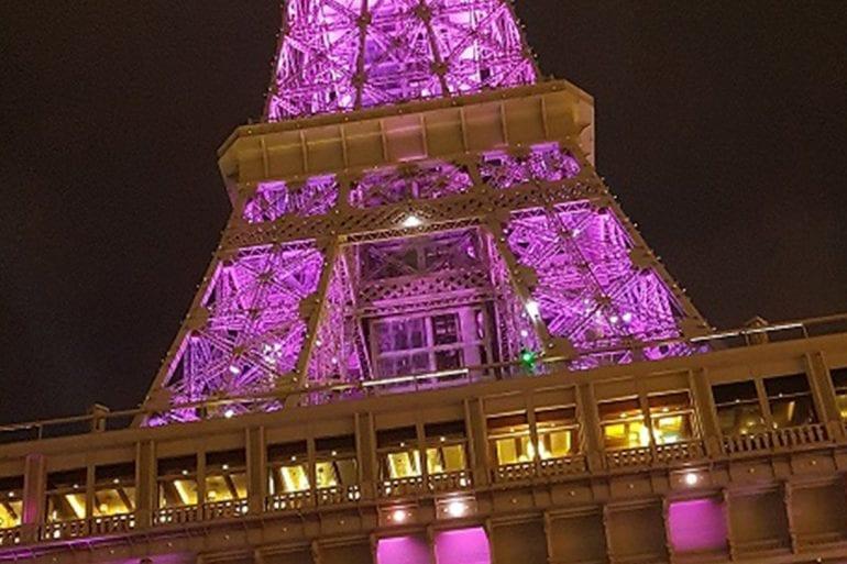 Fotografiar la Torre Eiffel , The Venetian, MGM y el Arco del Triunfo, hasta el stripp