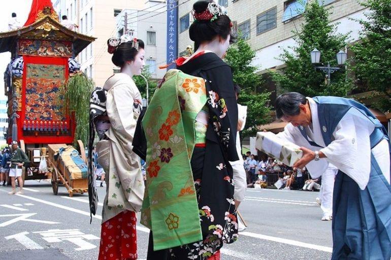 La belleza y majestuosidad de las Geishas