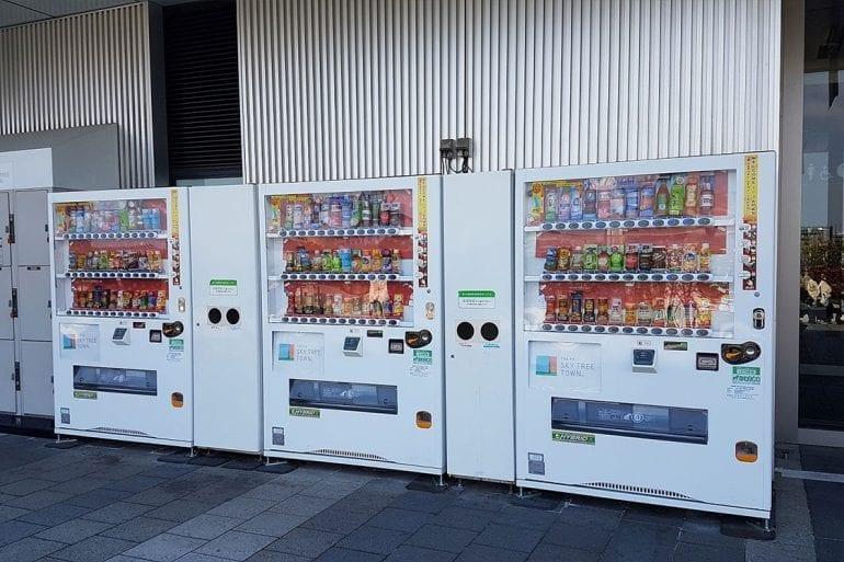 """Vending Machine """"Máquinas expendedoras"""""""