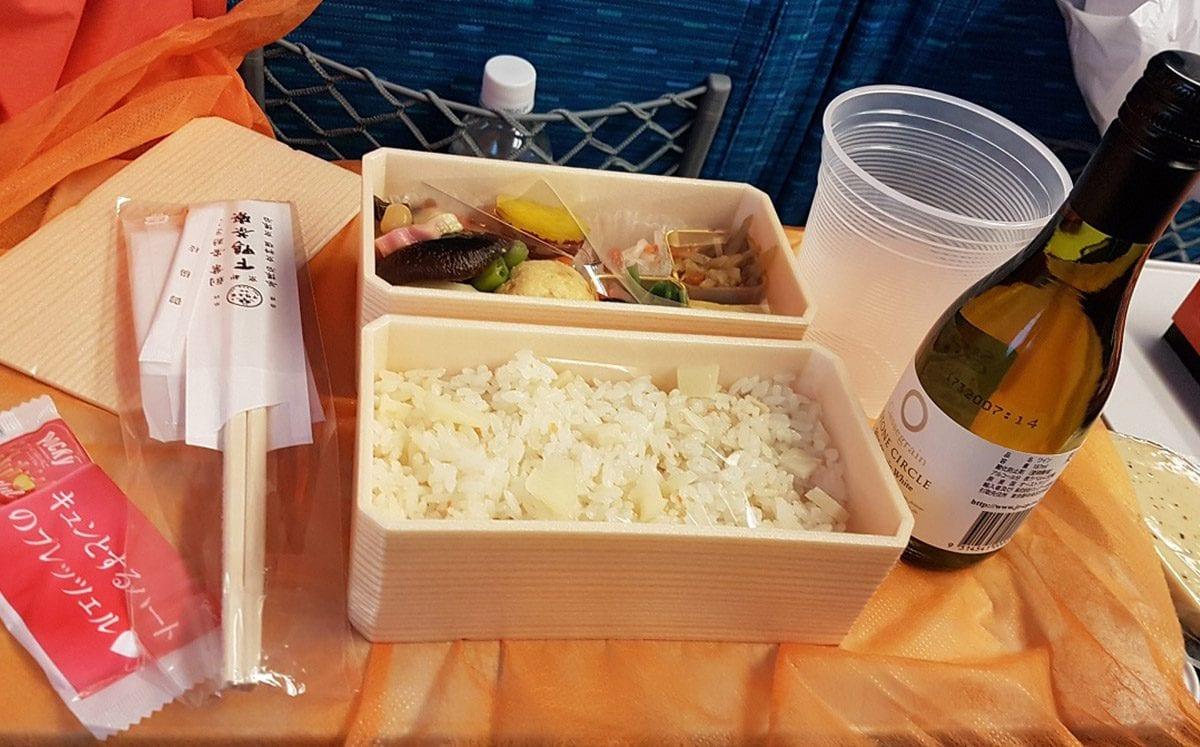 Ekiben:  Envolturas de comida rápida para el tren, un diseño muy original… muy japonés
