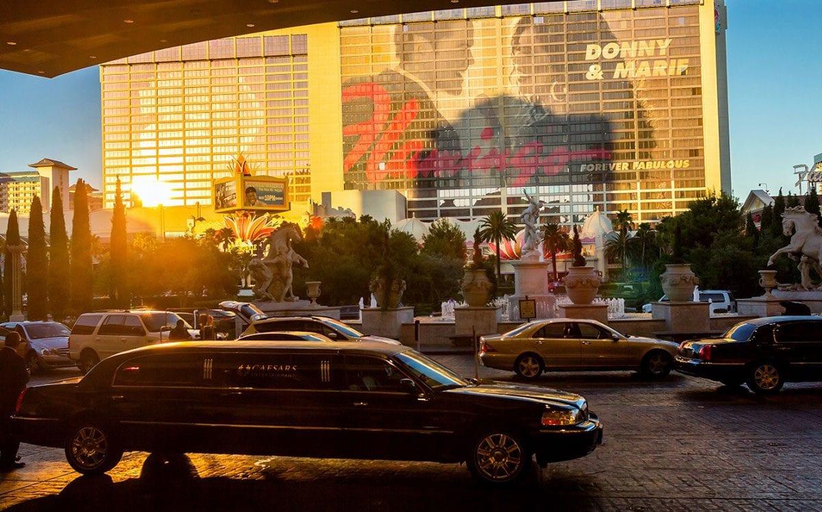 Paseo en Limousine sobre Las Vegas Strip