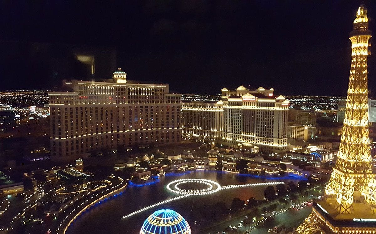 Vuelo en helicóptero sobre Las Vegas Strip