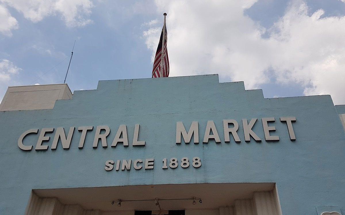 Las clásicas compritas en el Central Market