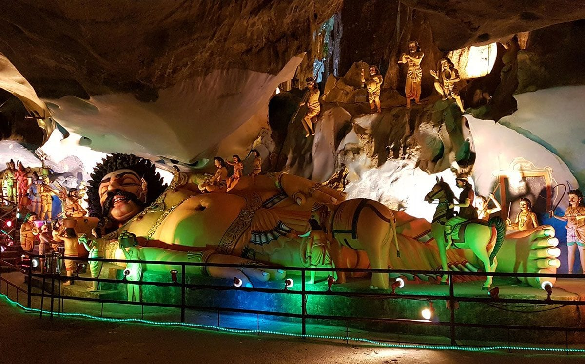 Visitar las Batu Caves o Cuevas de Batu