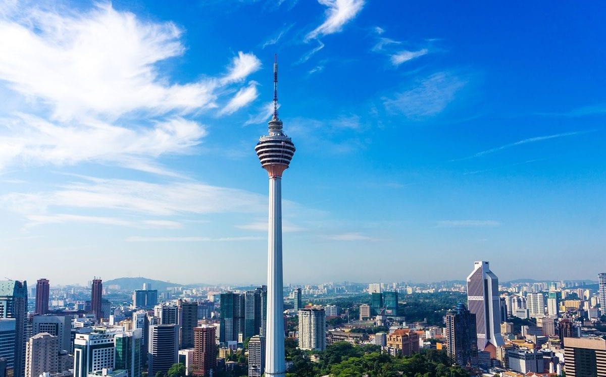 Las maravillosas vistas de Kuala Lumpur desde la KL Tower…