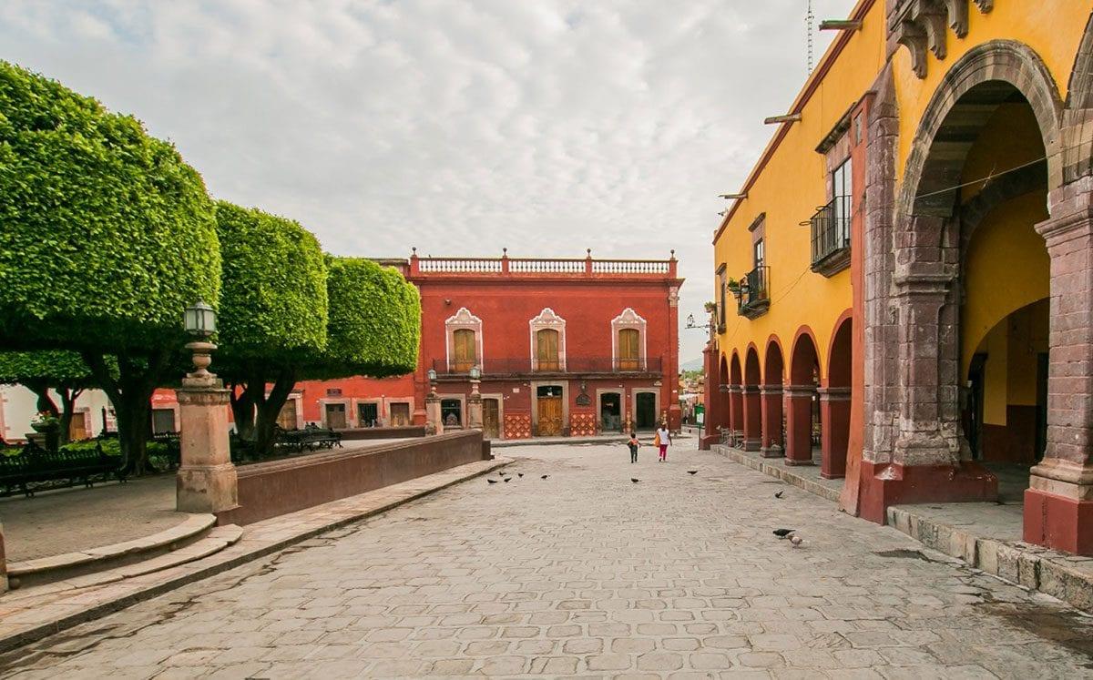 Mercados y andadores de Artesanías