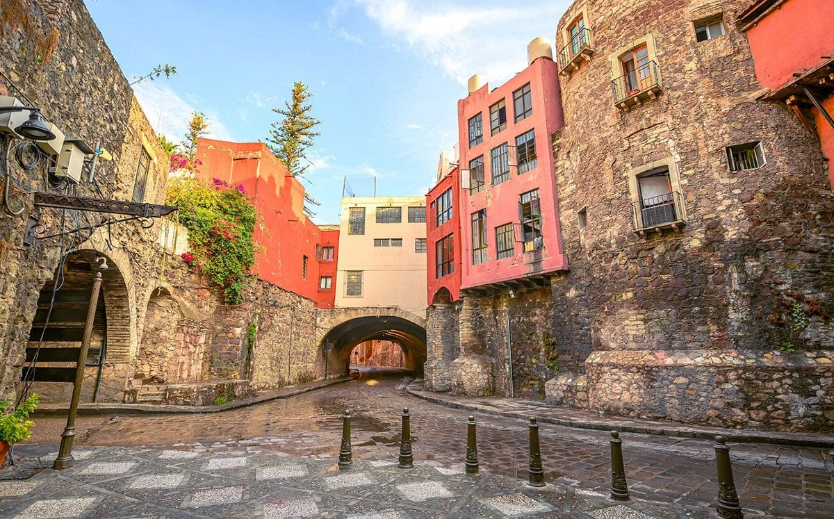 Los túneles de Guanajuato, una ciudad con muchos misterios