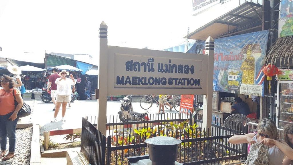 Mae Klong, visitando el Mercado del Tren