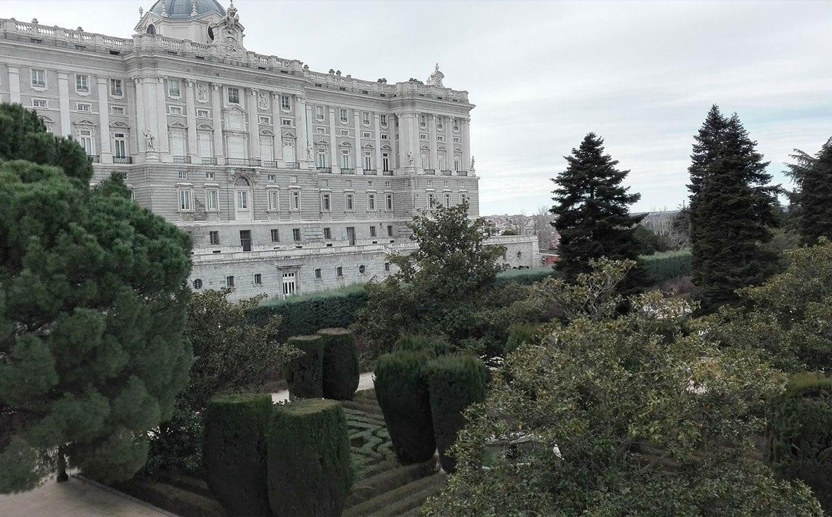Jardines de Sabatini… un esplendor Real
