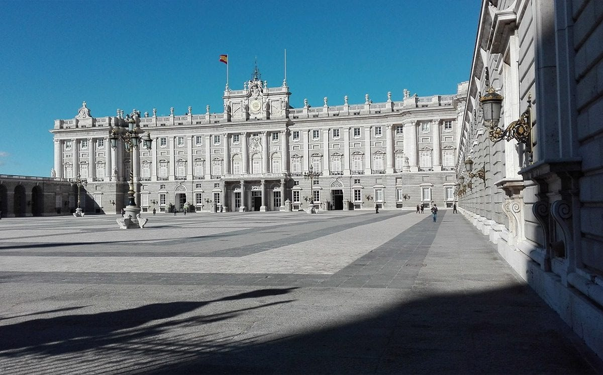 El majestuoso Palacio Real de Madrid