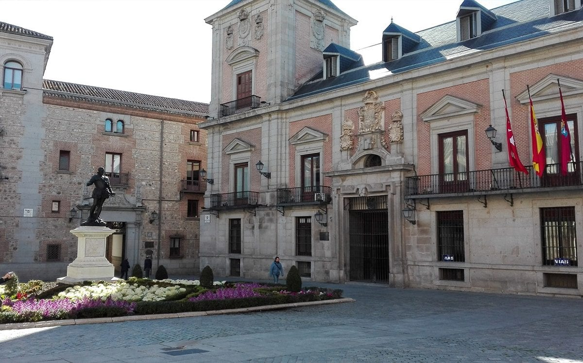 Plaza de la Villa… El antiguo centro de Madrid