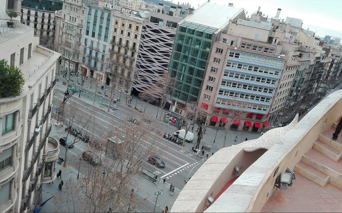 Passeig de Gràcia (El Paseo de Gracia en Barcelona)