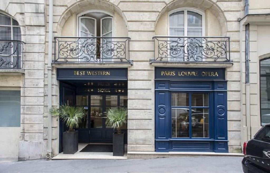 Hotel Paris Louvre Opera Best Western