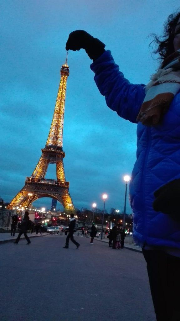 La majestuosidad de la Torre Eiffel