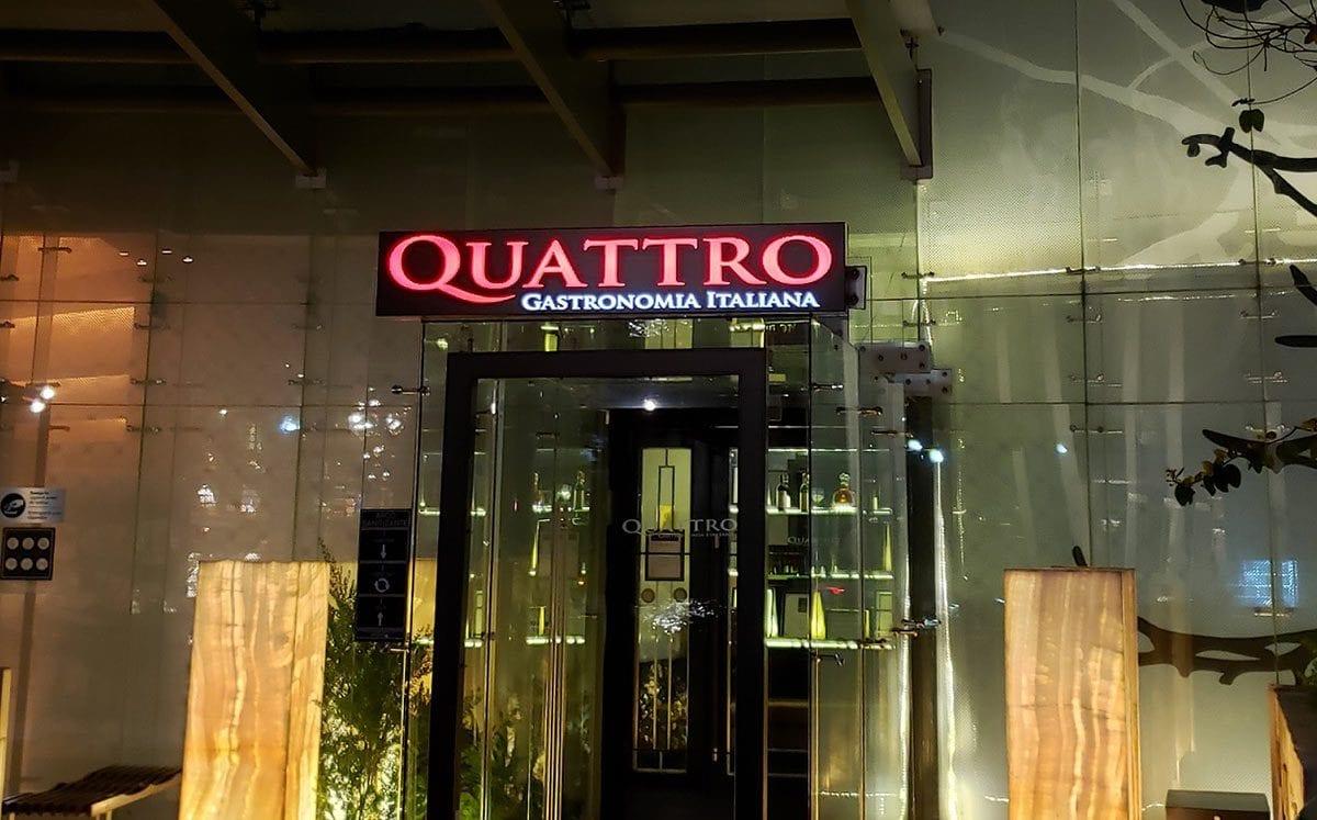 Quattro… gastronomía italiana