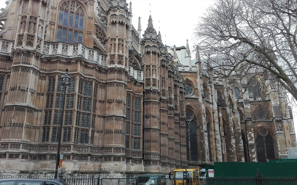 El Palacio de Westminster… sede del Parlamento