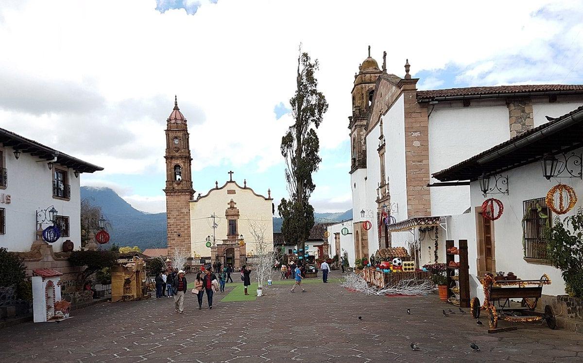 El pueblo mágico de Santa Clara del Cobre