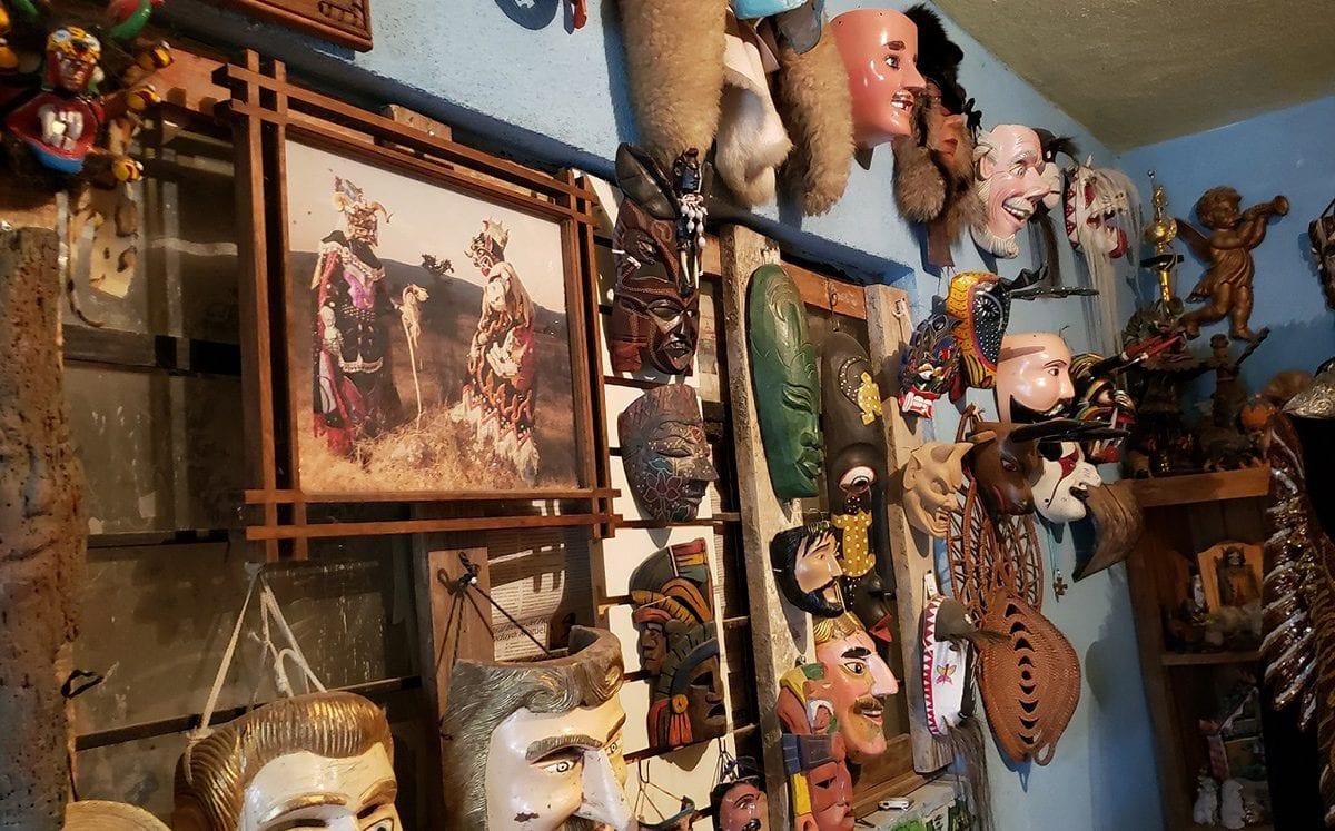 Tócuaro… el pueblo de las máscaras