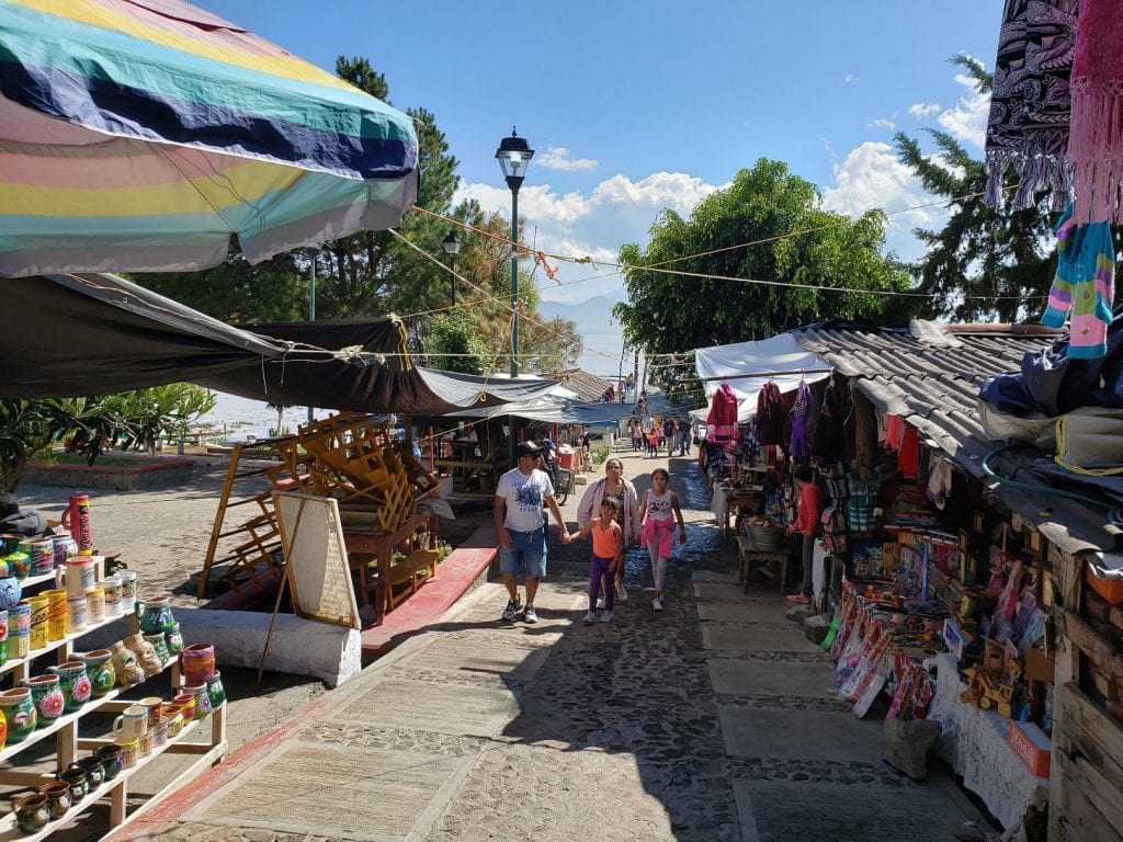 Isla Janitzio… lugar donde se empezó a poblar