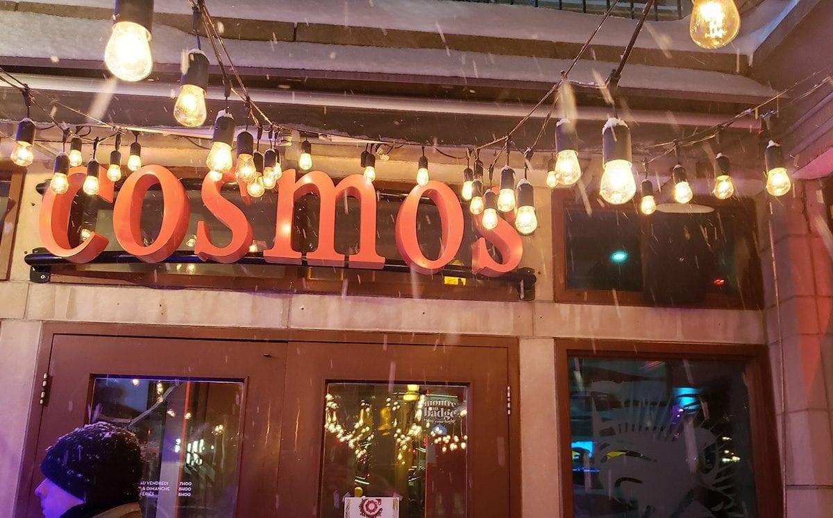 Cosmos Café… excelente menú canadiense