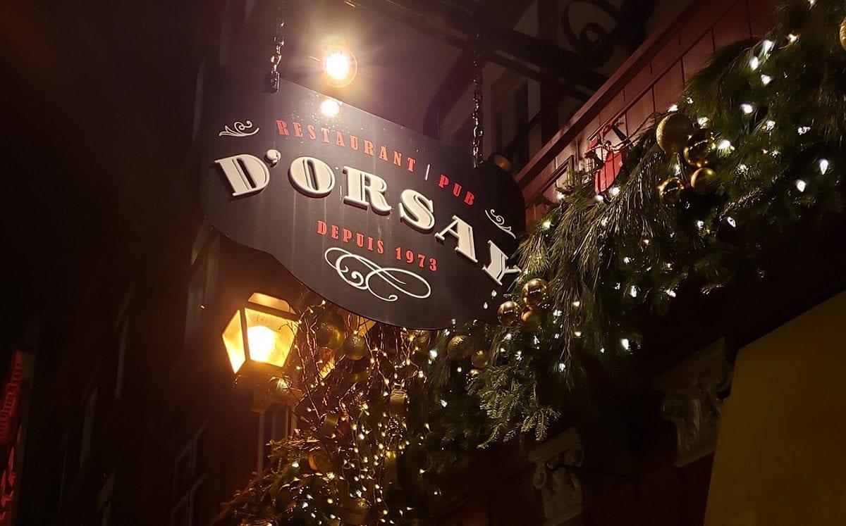 D'Orsay… más que un restaurant pub