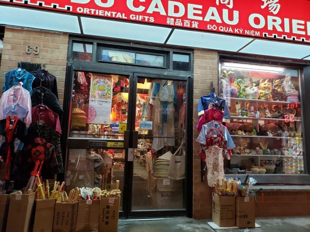 Barrio chino… China en Montreal