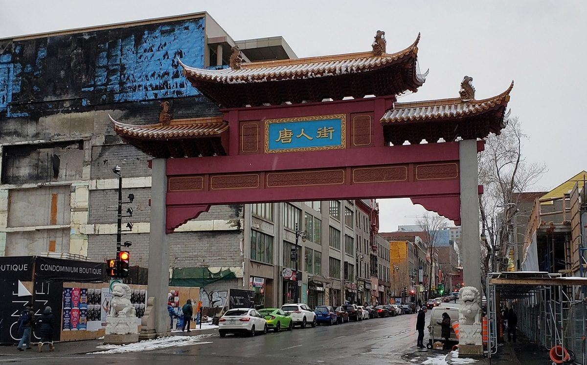 Barrio chino… China en Montreal