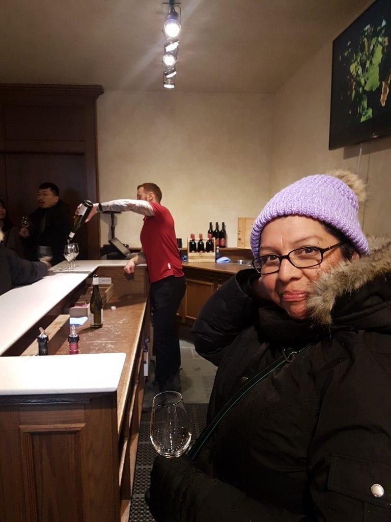 Vino de hielo en Niágara… exquisitamente delicioso
