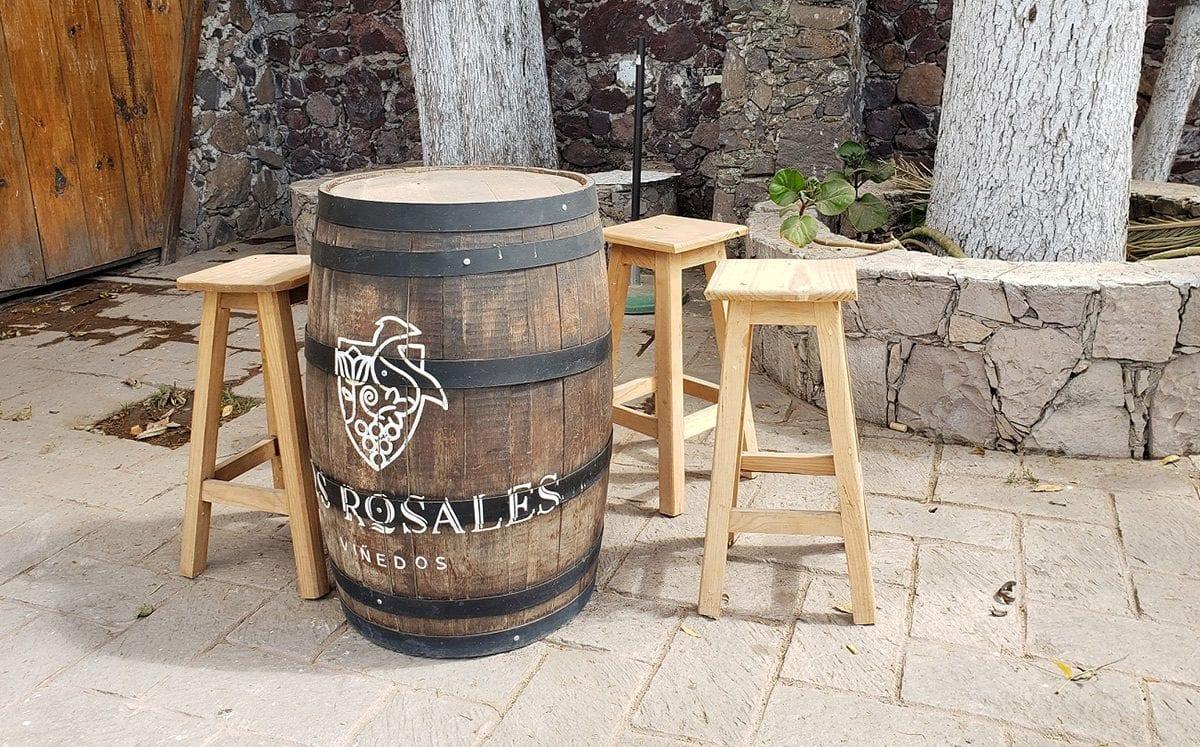 Viñedos Los Rosales… primer viñedo en elaborar vinos con uva Salvador