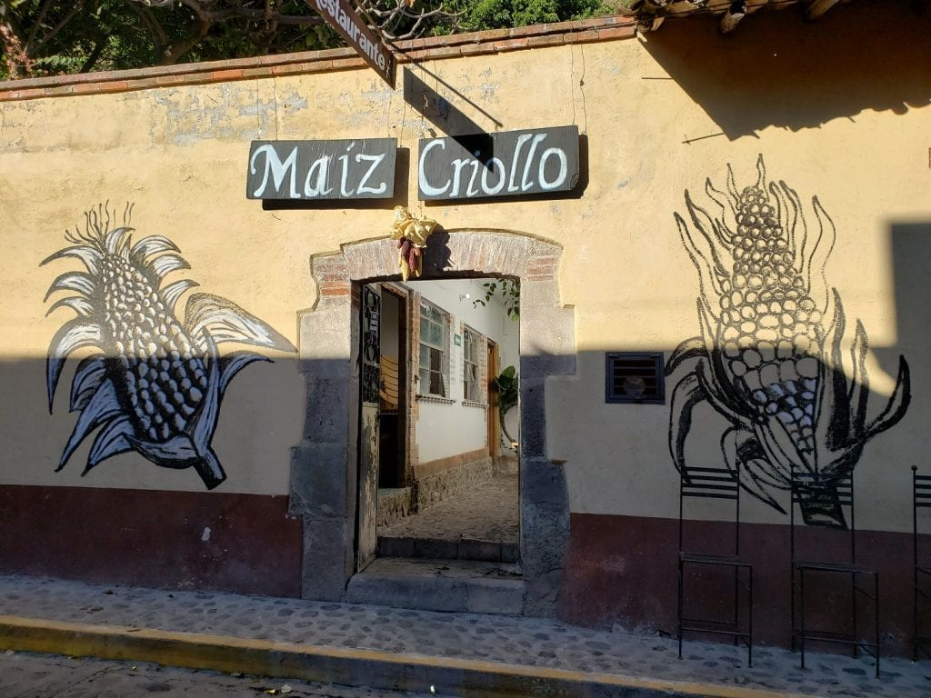 Restaurante Maíz Criollo… balance perfecto de sabores