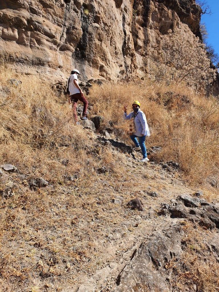 Pinturas y petrograbados rupestres… Malinalco Prehistórico