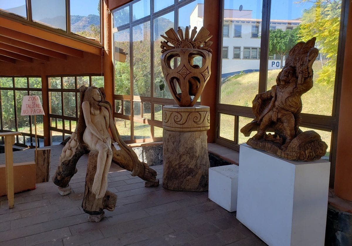 Tallado en madera… tradición malinalquense