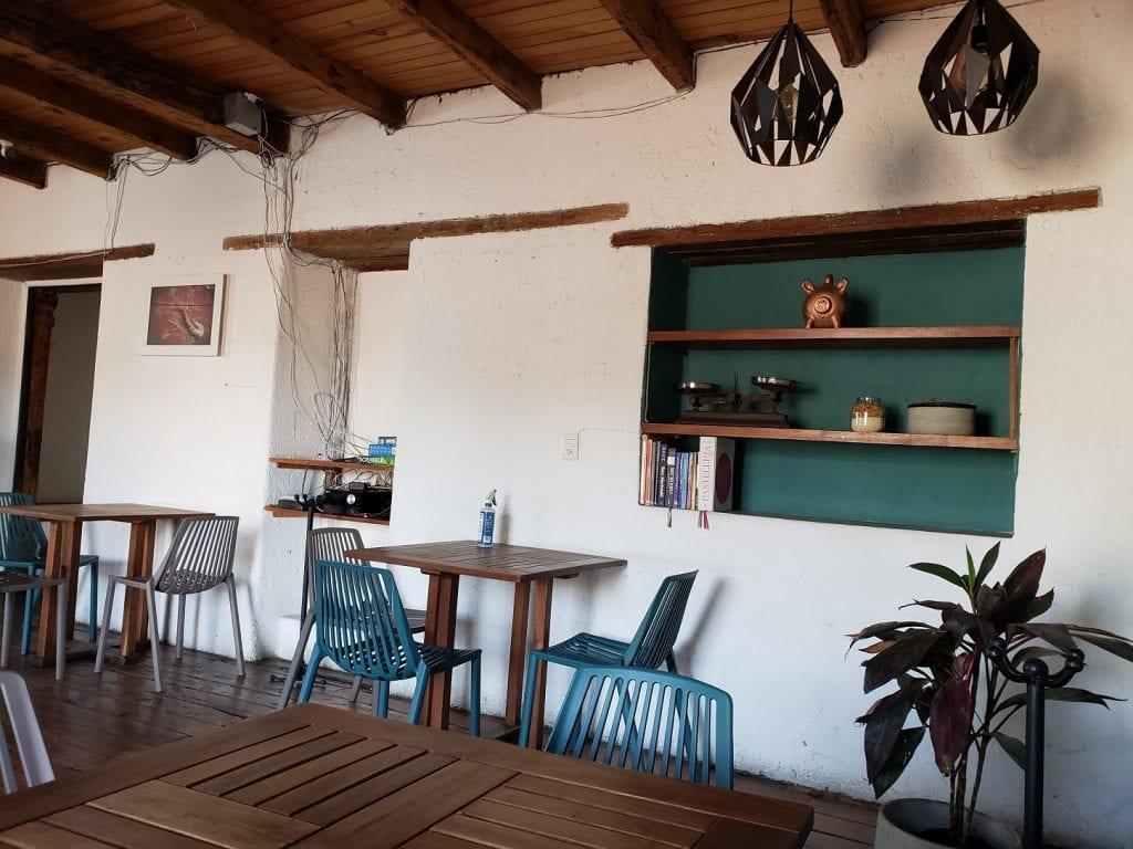 La Machinhuepa… cafetería con un toque afrancesado