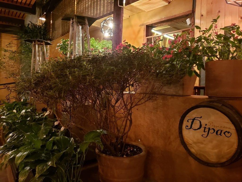 Dipao… pizza e vino italiano en Valle
