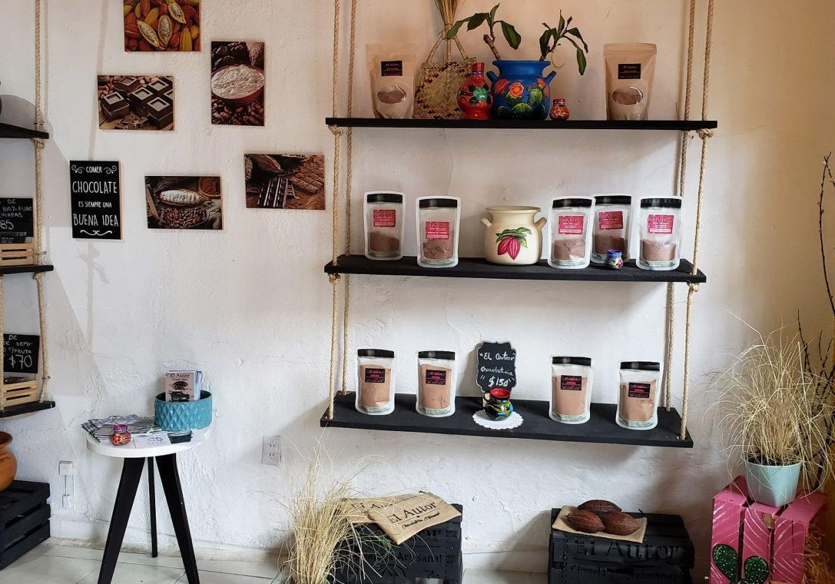 El Autor… Chocolatería artesanal