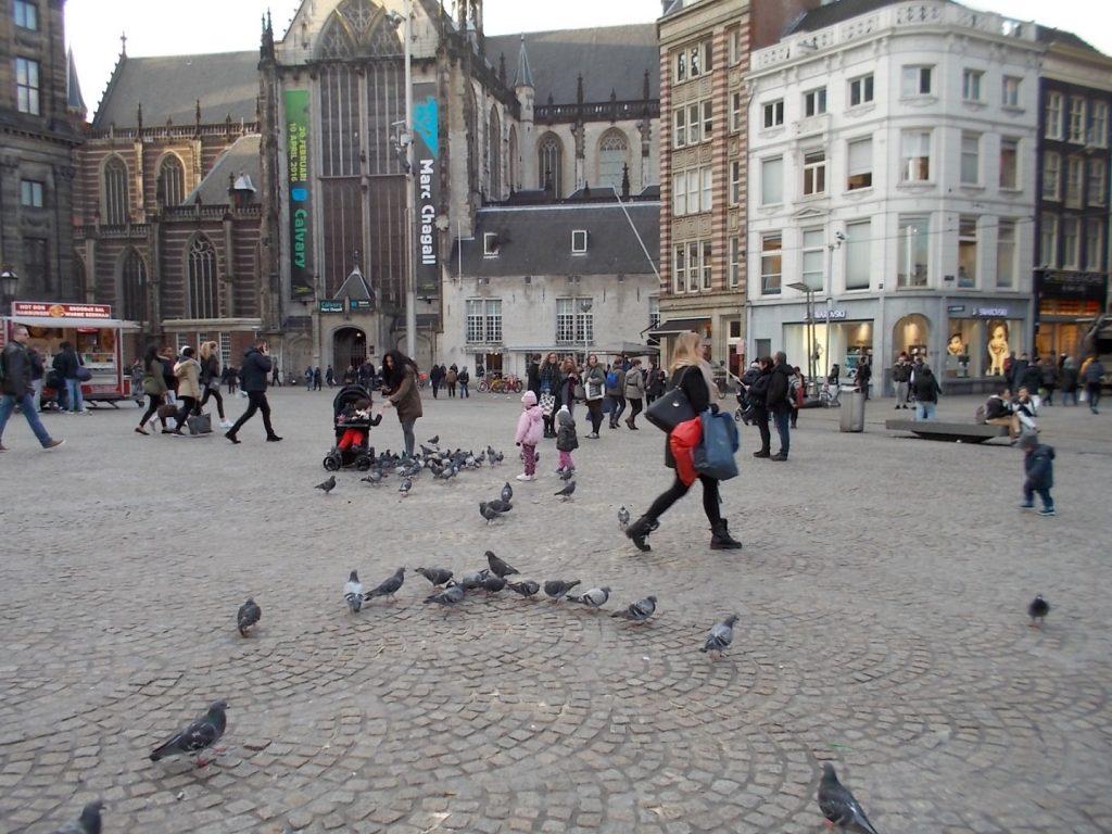 Plaza Dam… el corazón de Ámsterdam
